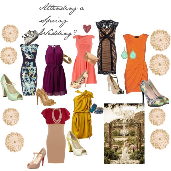 Attending A Spring Wedding What To Wear Here Are Some IdeasEnjoy